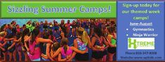 #ClippedOnIssuu from iFamilyKC April 2016 Xtreme Gymnastics offers many different summer camps for your child to have fun at while being active!!  // For more family resources visit www.ifamilykc.com! :)