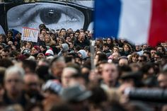 Unity Rallies for France terror victims - The Big Picture - The Boston Globe