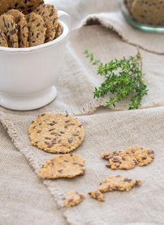 crackers de aveia e sementes