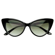 8f0763b150 AStyles Super Cateyes Vintage Inspired Fashion Mod Chic High Pointed Cat  Eye Sunglasses Glasses Retro Sunglasses