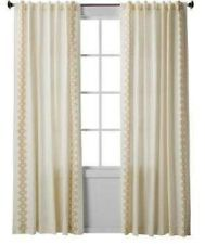 Nate Berkus Inca Print Window Panel, Cream   Contemporary   Curtains     By  Target   With An Added Trim