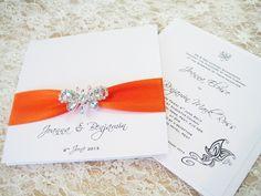 orange wedding invitations - Google meklēšana