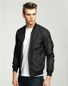 Luxury Slim Fit Bomber Jacket For Men. Shop Now 🌿