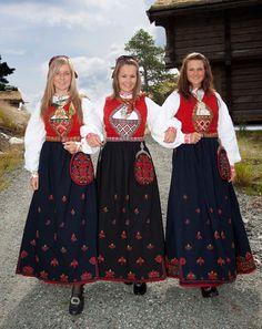 Sigdal/Eggedal, Krødsherad og Flå hører til samme draktområde. Selv om Flå er en Hallingdalskommune, hører Flå likevel draktmessig til de kommunene i Midtfylket. Ref: Bunadsmagasinet