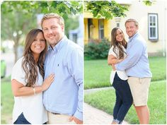 Downtown Smithfield Engagement Session on Let's Wed Hampton Roads