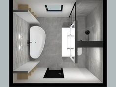 Twee mooie badkamers / De Eerste Kamer badkamers met karakter Do you want two beautiful bathrooms in your home? Be inspired by the bathrooms of De Eerste Kamer. The bathroom specialists are happy to show what is possible in a personal bathroom design in Bathroom Floor Plans, Bathroom Flooring, Bathroom Cabinets, Bathroom Mirrors, Marble Bathrooms, Boho Bathroom, Bad Inspiration, Bathroom Inspiration, Bathroom Layout
