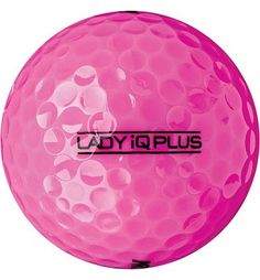 I always played with pink golf balls