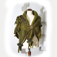 Woodland fairy or pixie Poncho