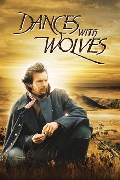 Dances With Wolves Movie Poster - Kevin Costner, Mary McDonnell, Graham Greene Kevin Costner, Wolf Movie, Mary Mcdonnell, Wolf Poster, Dances With Wolves, Vhs Movie, Movie List, Graham Greene, Inspirational Movies