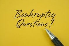 Declaring Bankruptcy | Stretcher.com - Is it the best way out?