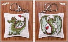 dragon free cross stitch  scroll down page