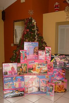 Miniature - Barbie filled Christmas | Flickr - Photo Sharing!
