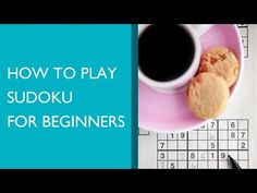 How to Play Sudoku for Beginners - YouTube