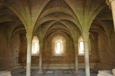 Sala capitular del Monasterio de Santa María de Santes Creus