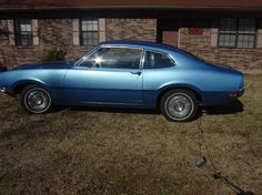 When my Renault died, my friend, Lanny Millette, sold me a Ford Maverick for $50. What a deal!