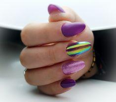 Aurora Nails effect
