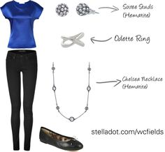 """Outfit of the Day"" by whitneyfields on Polyvore www.stelladot.com/wcfields"