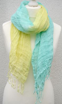 """""""Sweet, springtime breezes!""""  A colorful scarf will refresh any outfit! #smirnoffcontestentry"""