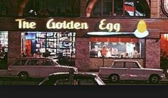 "Golden Egg Restaurant - ""Saturday's Child"" I remember one in Somervile Mass Popeye Cartoon Characters, Sweet Memories, Childhood Memories, Penny For The Guy, Egg Restaurant, Johannesburg City, Jacob Zuma, Time Of Your Life, The Old Days"