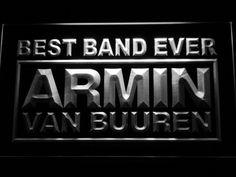 Armin Van Buuren Best Band Ever LED Neon Sign
