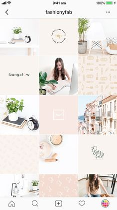 Website inspiration, color palettes and images for building a beautiful author brand. Instagram Feed Layout, Instagram Grid, Pink Instagram, Instagram Design, Instagram Blog, Instagram Fashion, Instagram Posts, Pink Themes, Color Themes
