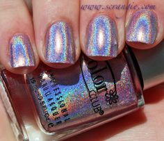 Cloud Nine // Scrangie: Color Club Halo Hues Holographic Nail Polish Collection Spring 2013 Swatches and Review