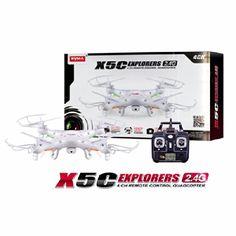 Syma X5C Explorers 2.4G 4CH RC Quadcopter Mode 2 With HD Camera Syma http://www.amazon.com/dp/B00KOIGA3O/ref=cm_sw_r_pi_dp_RAxmub1B2RNXW