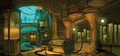BioShock Art & Pictures,  Environment Art