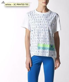 Text Prints Stella McCartney for Adidas