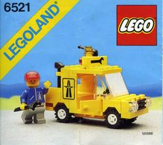 LEGO ® de recette//INSTRUCTION Nº 6361