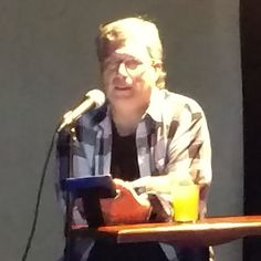Storm Forged author Patrick Dugan reading at Books and Beer at Jackalope Jacks in Charlotte, NC. Published by Falstaff Books. #supportindieauthors