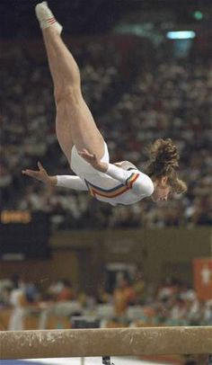 Ecaterina Szabo - the most successful athlete at the 1984 Olympics