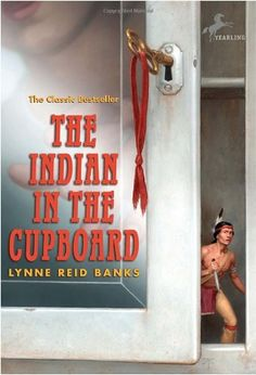 The Indian in the Cupboard by Lynne Reid Banks http://www.amazon.com/dp/0375847537/ref=cm_sw_r_pi_dp_lIkMvb1KQYF2X