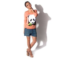 Sueter Intarsia Panda - iBacana