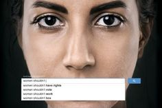 Finding sexism in the world is as easy as typing a few words into the world's largest search engine. A campaign for UN Women shows how gender preju. Creative Advertising, Gender Inequality, Commercial Ads, Advertising Campaign, Social Advertising, Search Advertising, Campaign Posters, Domestic Violence, Women Rights