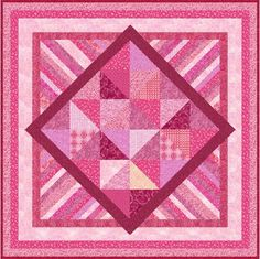 PINK ELEPHANT Quilt Addicts Precut Patchwork by quiltingaddiction, $79.95