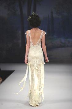Claire Pettibone's 2012 Beautiful Beau Monde Collection-- I do kinda love that hair