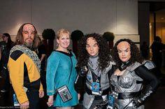 DragonCon 2013 - Lt. Worf - Jeff Lester & Teri Banks