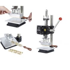 Portable Hot Foil Gold Stamping Machine With Stock Symbol Number And Letter Mold Set - Buy Gold Stamping,Gold Stamping Machine,Gold Stamping Foil Machine Product on Alibaba.com