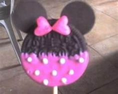 minnie mouse baby shower - would love to make these for the shower