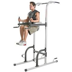 I like Fitness Gear Power Tower at Dick's Sporting Goods the best.