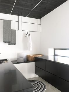 home architecture idea, home design idea - decorating before and after interior design Home Design, House Design Photos, Cool House Designs, Modern House Design, Modern Interior Design, Interior Architecture, Design Ideas, Interior Minimalista, Modern Laundry Rooms
