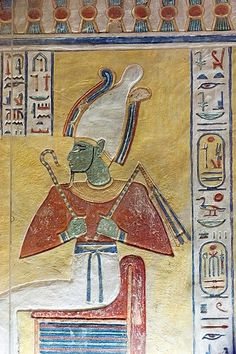 """noctaeris: """" The Tomb of Amunherkhepshef The Egyptian prince was the son of Ramesses VI and Queen Nubkhesbed. Amunherkhepshef lived during the twentieth dynasty and buried in the reused sarcophagus of..."""