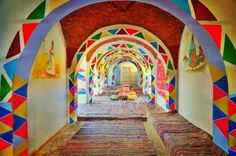 Nubia Egypt Visit Egypt, Simple House, Places To Visit, Painting, Beautiful, Flourish, Homes, Colorful, People