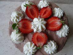 Ciasta Mamy: Tort śmietankowy z truskawkami