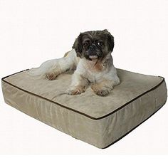 Snoozer Outlast Dog Bed Sleep System 3Inch Thick Small BuckskinJava -- Details can be found by clicking on the image.