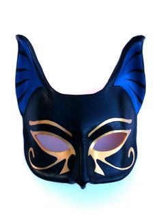 Bastet Leather Mask. $55.00, via Etsy.