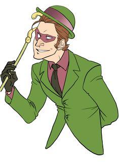 "Batman: ""You're insane. That would imply some mental illness or derangement! Batman Art, Batman Comics, Dc Comics, Gotham Villains, Superhero Villains, Batman Universe, Dc Universe, Edward Nygma Gotham, Sherlock"