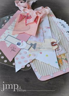 large note tag/card