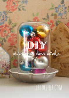 """DIY Idee decor """"fai da te"""" per Natale"""